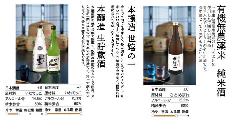 純米と本醸造