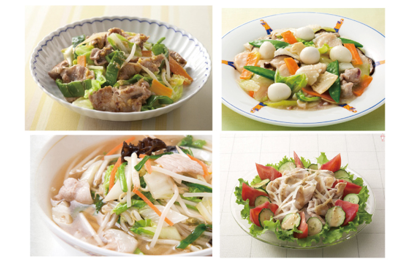 残ったお肉とお野菜と出汁は野菜炒め、豚しゃぶサラダ、タンタンメン、なんにでも使えます。